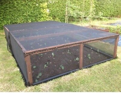 Garden Shade, Scaffold Debris Net, Black shade nets, 2m Wide, Greenhouse shade.