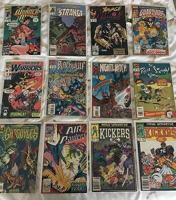 Marvel Comics Lot Of 12(80's-90's){Guardians Of The Galaxy, Dr Strange, more}