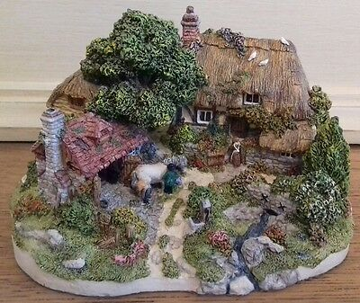 The Village  Smithy, Country village collection, Danbury Mint, boxed with cert.