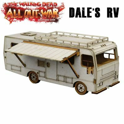 The Walking Dead Dale's RV Winnebago Chieftain All Out War Mantic Games Car Van