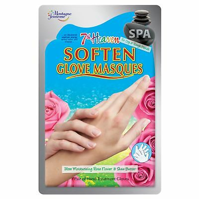 7th Heaven Spa Moisturising Glove Masques Hand Treatment Gloves Soft Hands