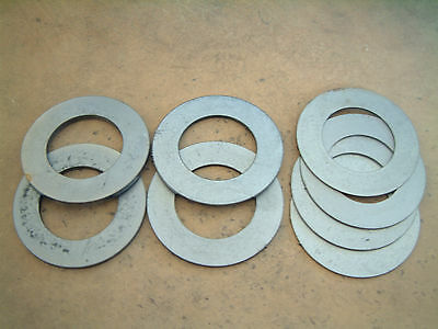 35mm id shim pack for excavator and digger pins etc (4x 1mm, 2x 2mm, 2x 3mm)