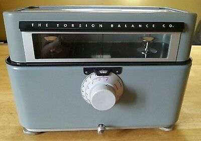 The Torsion Balance Co. pharmaceutical scale