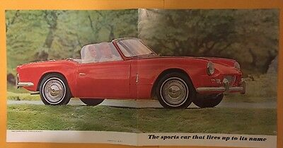 Vintage Triumph Spitfire Sales Brochure US Excellent Collectable