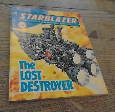 Vintage Starblazer DC Thomson Comics No 84 The Lost Destroyer