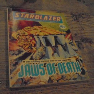 Vintage Starblazer DC Thomson Comics No 71 Jaws Of Death