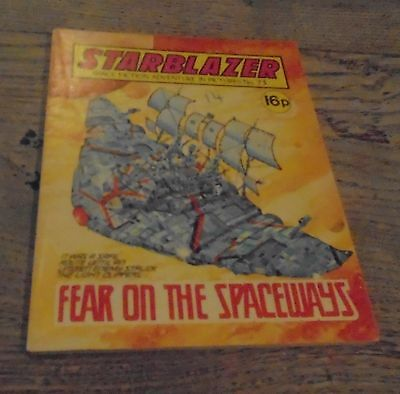 Vintage Starblazer DC Thomson Comics No 73 Fear On The Spaceways
