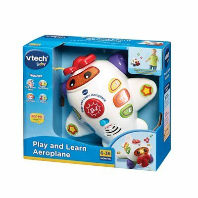 Vtech Baby Play & Learn Aeroplane Educational Toy 6 - 36 mths