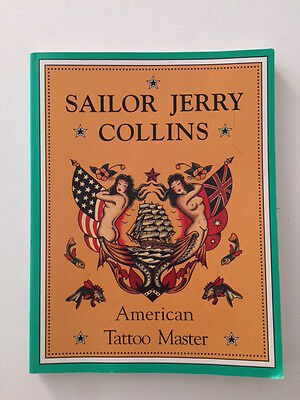 'SAILOR JERRY COLLINS-American Tattoo Master' Book by Don Ed Hardy-1994-FLASH!!