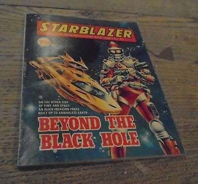 ** Offers Welcome** Vintage Starblazer Comics No 85 Beyond The Black Hole