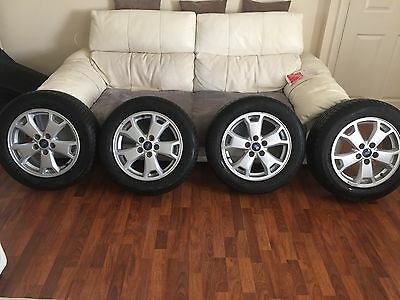 Genuine Ford Alloy wheels and tyres