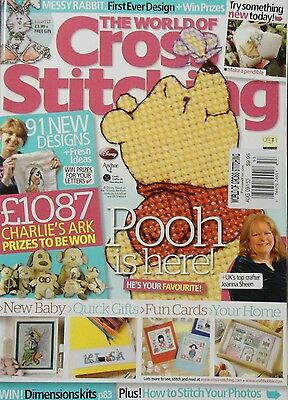 The World of Cross Stitching Magazine August 2009 Issue 153