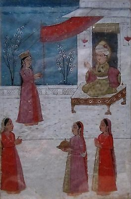Antique Indian Painting Miniature