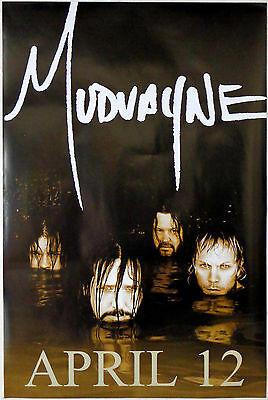 Mudvayne  -  Lost And Found   -   Original Rolled Rock Promo Poster (2005)