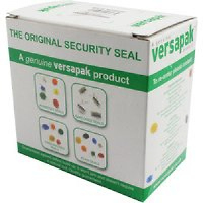 Versapak Numbered Security Seals for Versapak Mailing Pouches Ref WSEALNO Pack