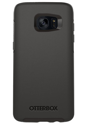 New Original Otterbox Symmetry Slim Case for Samsung Galaxy S7 Edge - Black !