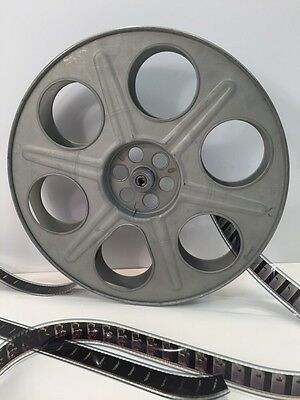 "Goldberg 35mm 14.5"" 2000ft. Antique Metal Film Reel Very Good Condition"