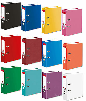A4 Large 75mm Lever Arch Files Folder Office Stationery Document Storage 1 5 20