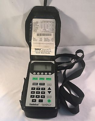 Sadelco DisplayMax Jr. 2500 Signal Level CATV Meter Jr w/ Level Ingress