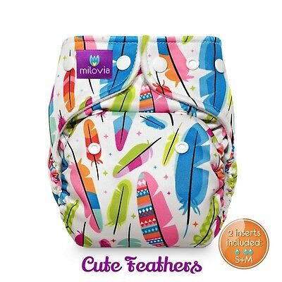 Milovia Pocket Nappy with coolmax lining - non stay dry option