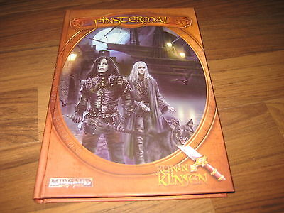 MIDGARD Runenklingen 3 Finstermal Hardcover Abenteuer Midgard Press 2008 Neu
