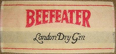 """Beefeater London Dry Gin Cotton Bar Towel 20"""" x 10"""" pp"""