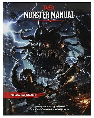 Dungeons and Dragons Dungeon Monster Manual 5th Edition