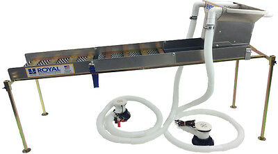 "Multi-Purpose True Highbanker/hopper 50""  Sluice Box Kit"