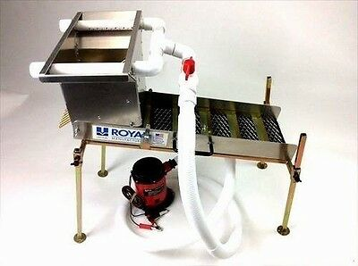 "Multi-Purpose True Highbanker/hopper 30"" Compact Sluice Box Kit"