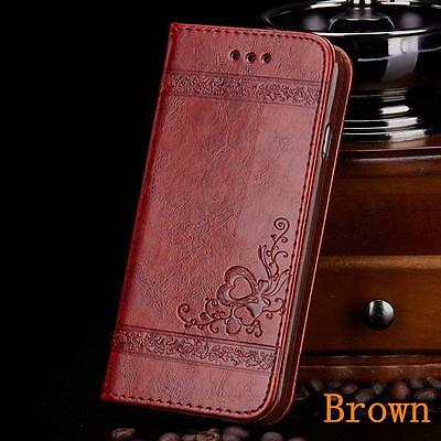 Luxury Flip Cover Wallet Card Holder Leather Phone Case Stand For iPhone 6 Plus