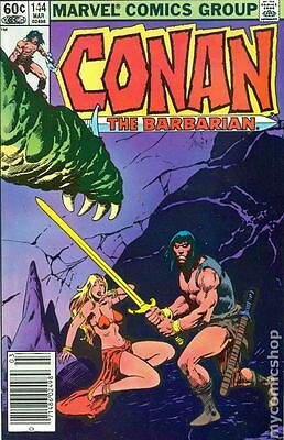 Conan the Barbarian (1970 Marvel) #144 FN (Top 3)