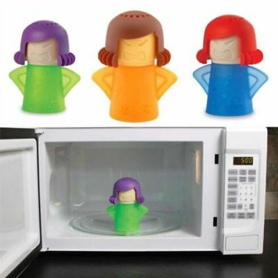 Angry Mad Mama Microwave Cleaner No Chemicals Kitchen Cleaning Steamer 4Colours