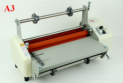 110V A3 Doubel Sides Hot Cold Laminating Thermal Laminator Economical Machine