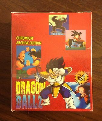 2000 Dragonball Z Chromium archive factory sealed box