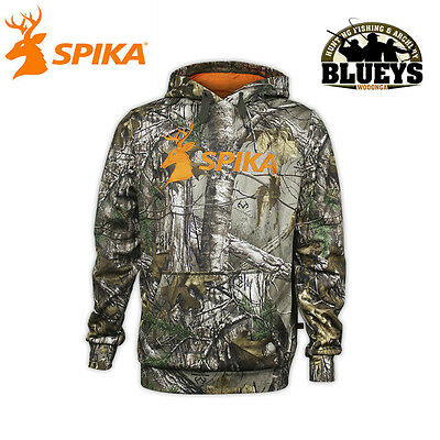 Spika Mens Go Hoodie Realtree RTXG Hunting Camo Hoodie Jumper NEW