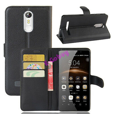 Wallet Leather Case Flip Cover  For LEAGOO M8