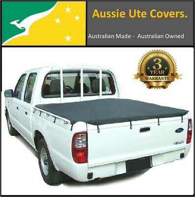 Ford Courier PE PG PH 1999 to 2006 Dual Cab Bunji Cord Ute Tonneau Cover