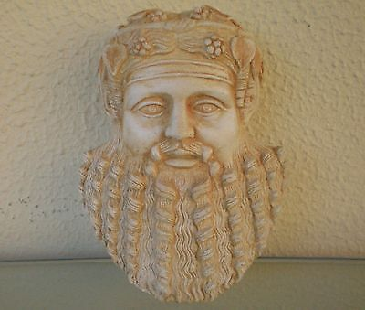 Dionysus Miniature Mask Ancient Greek Theater God of Wine Madness Ecstasy