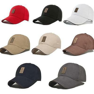 Unisex Men Women Outdoor Baseball Cap Golf Snapback Hip-hop Hat Adjustable NEW