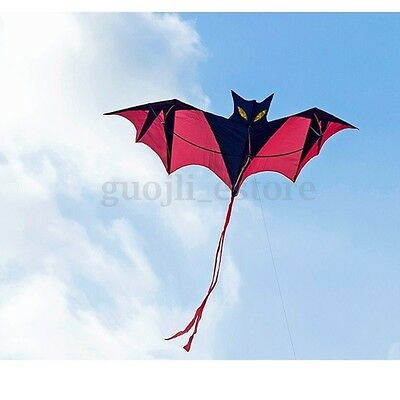 200cm Huge Bat Kite Flying Kites Windsock Novelty Toys Outdoor Activiy Kids Gift