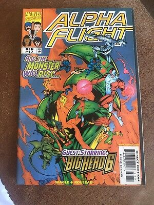 Alpha Flight #17 - First Appearance of Big Hero 6 - X-Men -  Key Issue!!