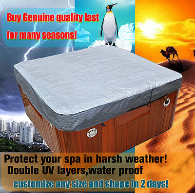 cusomize 220cm.230cm,243cm,380cm,550cm hot tub cover cap,swim spa cover bag
