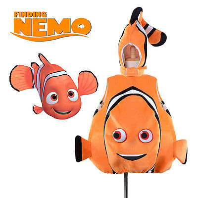 Kid Adult Finding Nemo Cosplay Clown Fish Mascot Costume Toddle Baby Fancy Dress