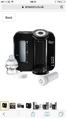 tommee tippee perfect prep Machine Black New