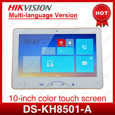 Hikvision DS-KH8501-A 10 inch Monitor Color Display Touch screen Video Intercom
