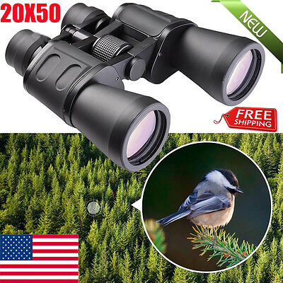 High Times 20X50 Zoom Outdoor Travel Night Vision Infrared Waterproof Telescope