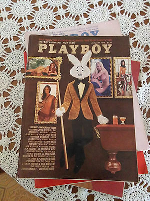 Playboy (Gennaio 1972, USA) (Playmate Marilyn Cole, Liv Lindeland, Willy Rey)