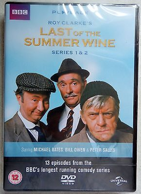 Last Of The Summer Wine - Series 1-2 - Complete (DVD, 2013, 4-Disc Set) NEW
