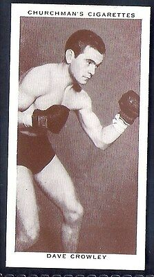 Churchman-Boxing Personalities-#09- Dave Crowley