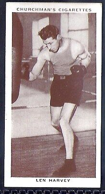 Churchman-Boxing Personalities-#18- Len Harvey